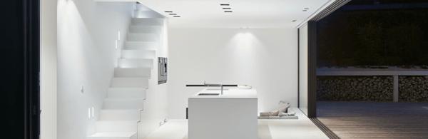 lighting design-wall washing-focus on space