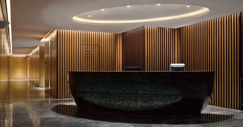 Illuminazione per reception: illuminazione negli uffici creativi di